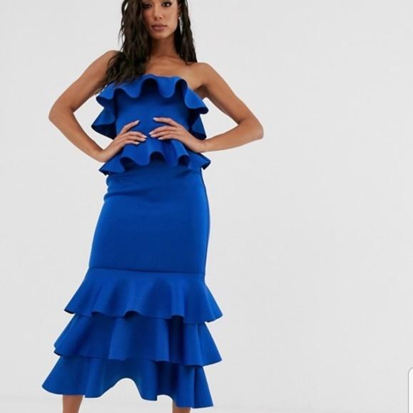 ASOS Dresses & Skirts - Ruffle maxi dress